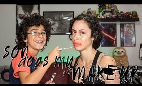 My Son Does My Makeup