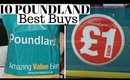 10 BEST POUNDLAND PRODUCTS I CAN'T LIVE WITHOUT