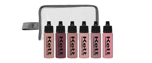 Available in six shades, Kett's beautiful blushes allow you to contour and create a flush that feels like it's glowing from beneath the skin.