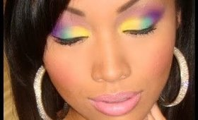 "Nicki Minaj ""Bedrock"" Music Video Inspired Makeup"