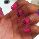 Pink Petaled Nails