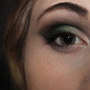 Green and Black Smokey