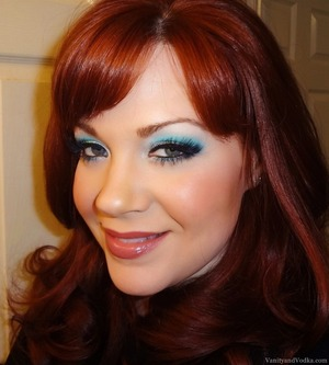For more info on this look, please visit: http://www.vanityandvodka.com/2013/08/bright-bluegreens-with-sugarpill.html xoxo,  Colleen ♥
