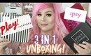 Beauty Box Unboxing | Ipsy Sephora Play and Boxycharm | Feb 2017