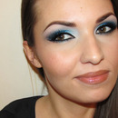 Navy Blue Smokey