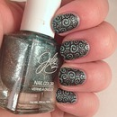 Stamping Saturday nails
