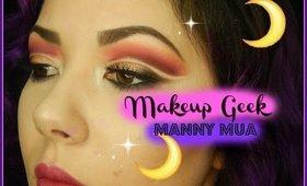 Double Cut Crease Ft. Makeup Geek x Mannymua Palette
