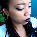 Marley Twists and Dark Lips