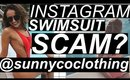 INSTAGRAM SWIMSUIT SCAM? | Sunny Co Clothing Scandal