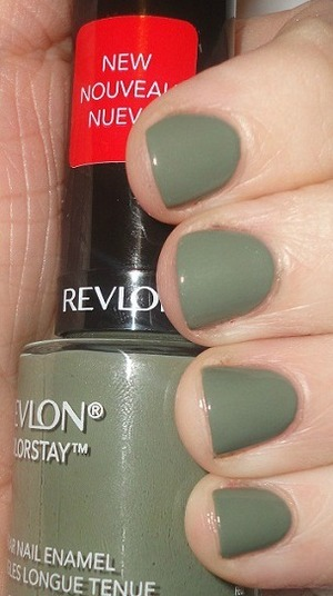 Revlon Color Stay Polish in Spanish Moss!
