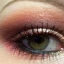 Coral Smokey Eye