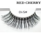 Red Cherry False Eyelashes #510