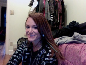 Just one of my looks. Pardon the mess in the back :P