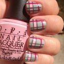 Pink & Grey Plaid