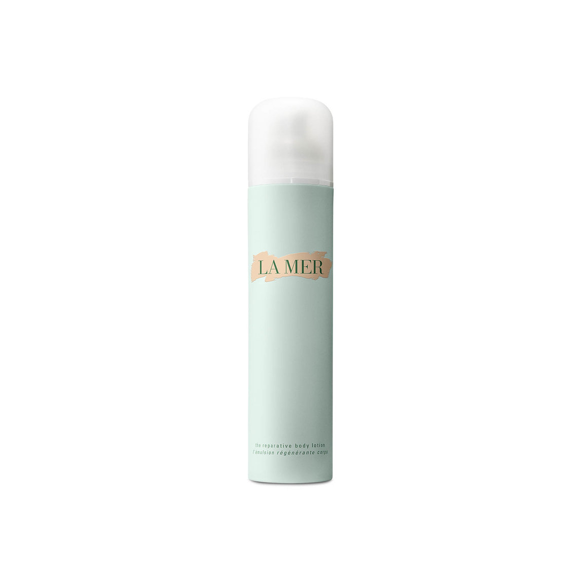 La Mer The Reparative Body Lotion product smear.