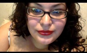 rockin red lips