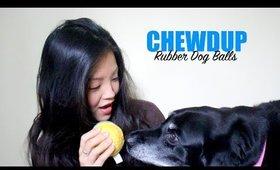 ChewdUp Rubber Dog Balls | now&jenn