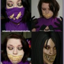 Mileena - Mortal Kombat Makeup