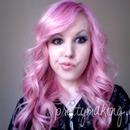 Pink Hair, Weird Face