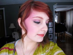 Anna Sui's Spring 2012 runway makeup look