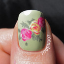 Roses on my thumb
