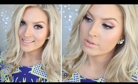 GRWM ♡ Glam Apricot Eyes! Makeup & Outfit