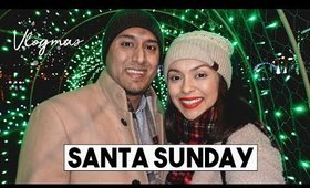 SANTA SUNDAY + LAFARGE CHRISTMAS LIGHTS! | Vlogmas Day 15 - LifeWithTrina