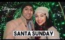 SANTA SUNDAY + LAFARGE CHRISTMAS LIGHTS! | Vlogmas Day 15 - LifeWithTrina