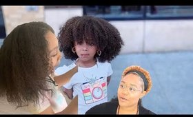 WHO GAVE HER HEAT DAMAGE?! How to take care of heat damaged/heat trained high porosity hair! CynDoll