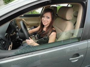 When I first got my new car :]