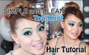 Perfect Top Knot in 2 Minutes (NO TEASING!)