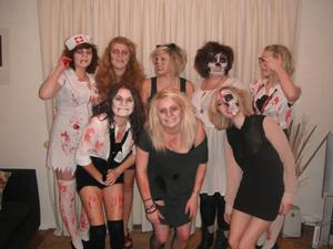 halloween me and my lovely models!