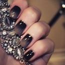 Ombre gradient nails