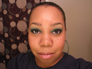 Peacock Eyes Using Urban Decay Deluxe Shadow Palette, March 2008