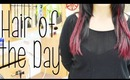 Hair of the Day - HOTD - Adding Plum with Tape Extensions | Instant Beauty ♡