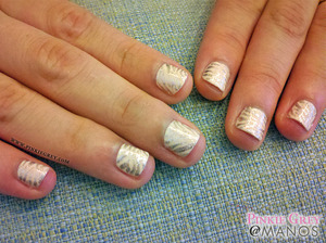 Edgy, yet sophisticated. Read more at: http://pinkiegrey.com/post/40482640069/dainty-zebra-ever-seen-a-zebra-in-the-nude-of