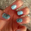 Robins egg nails!!