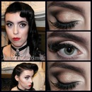Dita Von Teese Inspired Hair and Makeup