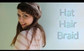 Hat Hair Braid: Thick Easy Braid Perfect for Wearing a Hat