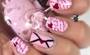 Heart Love Letter Nails by The Crafty Ninja