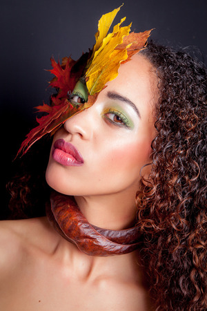 Model Janet had her make-up done by Dina Monteiro (Novita Artist). Styling and Photo by Jan Vos Photography.