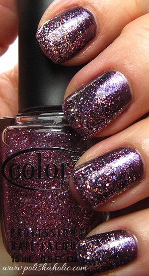 Color Club Alias, Color Club Candy Cane, Sally Hansen Strobe Light