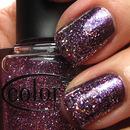 Purple and pink glitter gradient