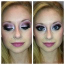 Breast Cancer Awareness makeup!