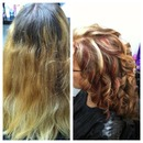 Color by me! Before & After