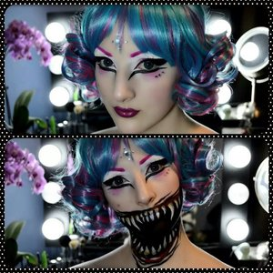 Check out my youtube channel for more looks like this..