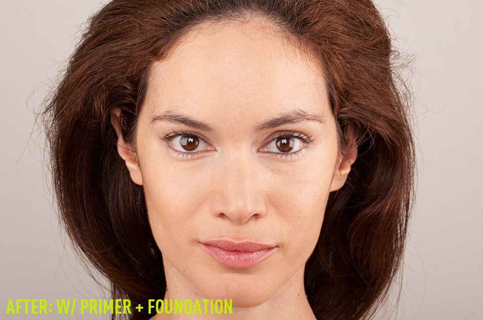 Face Redness: Primer and Foundation