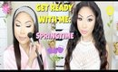 GET READY WITH ME: SPRINGTIME