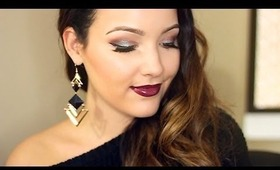 Thanksgiving Mixed Metals  | Glam Makeup Tutorial