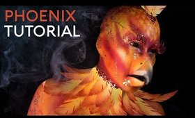 Phoenix | Mythical Creature | FX Makeup Tutorial